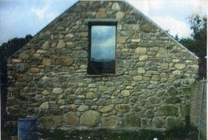Stonework to Gable End