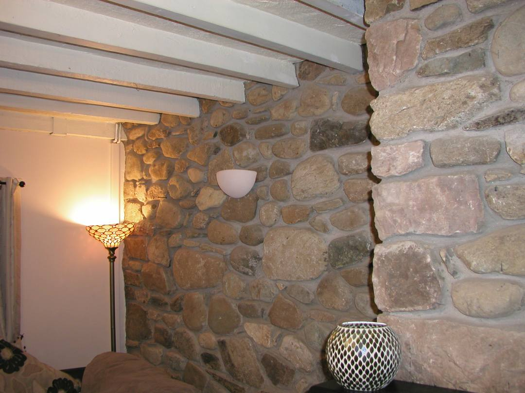 Decorative Internal Stone Wall Gwynedd Building Restoration