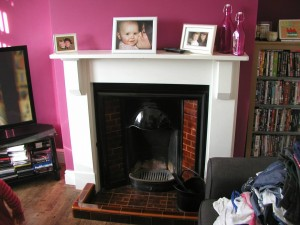 Tiled Inset Fireplace