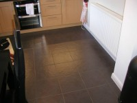 Tiled Kitchen Floor