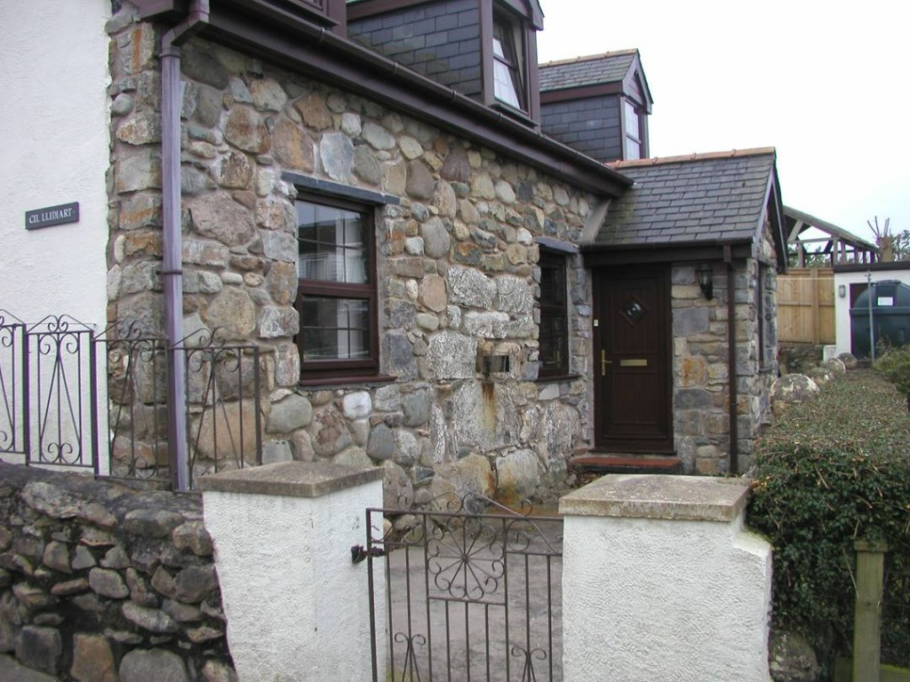 Re-pointed Stone Wall