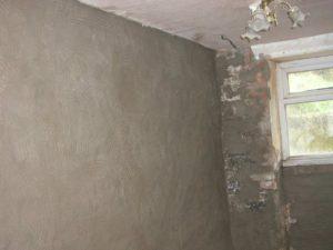Wall Ready for Finish Coat