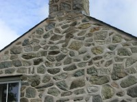 Gable and Chimney Re-Pointed