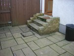 Steps and Patio