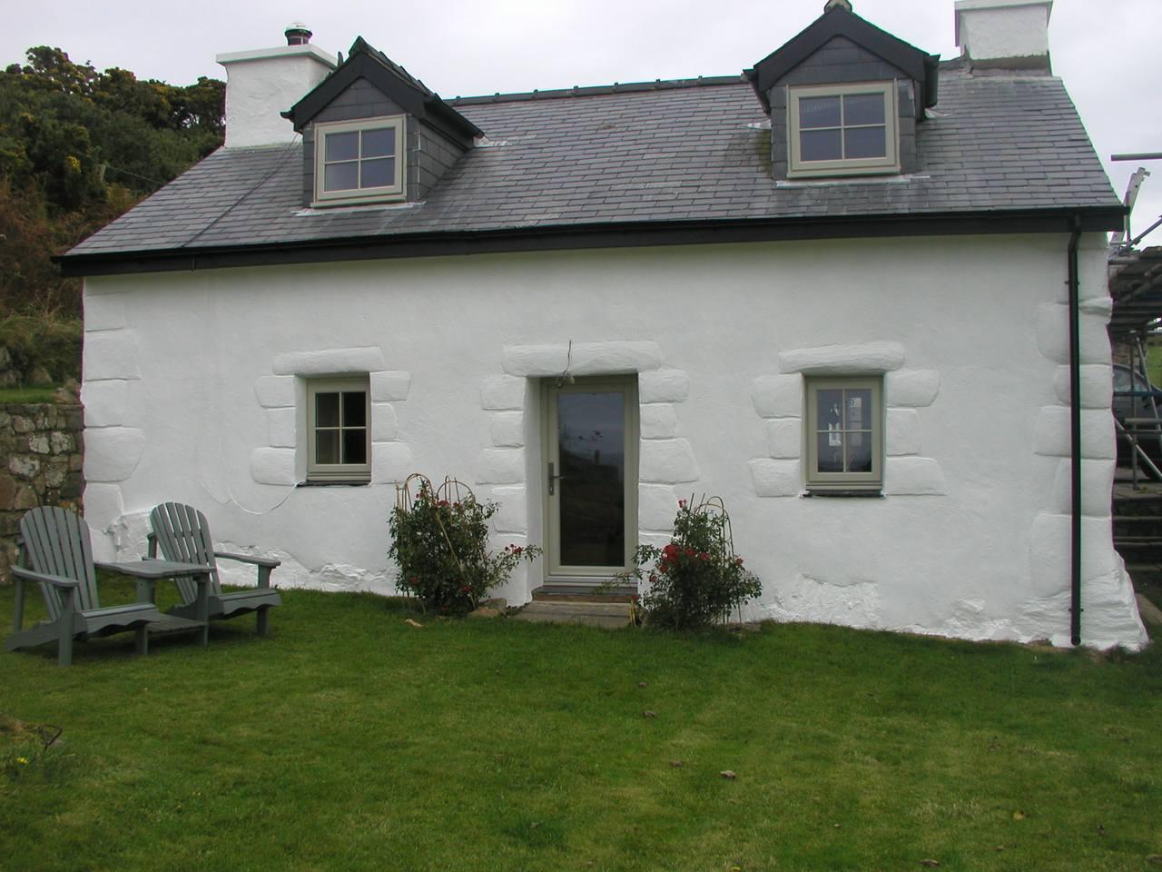Rendered Cottage